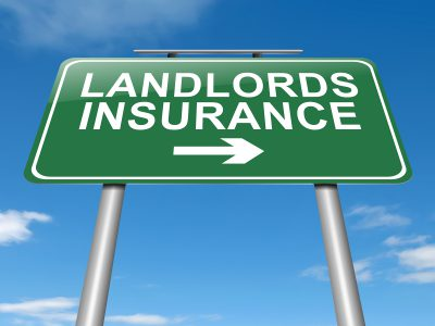 Landlords Insurance Concept