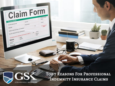 Reasons for Professional Indemnity Claims