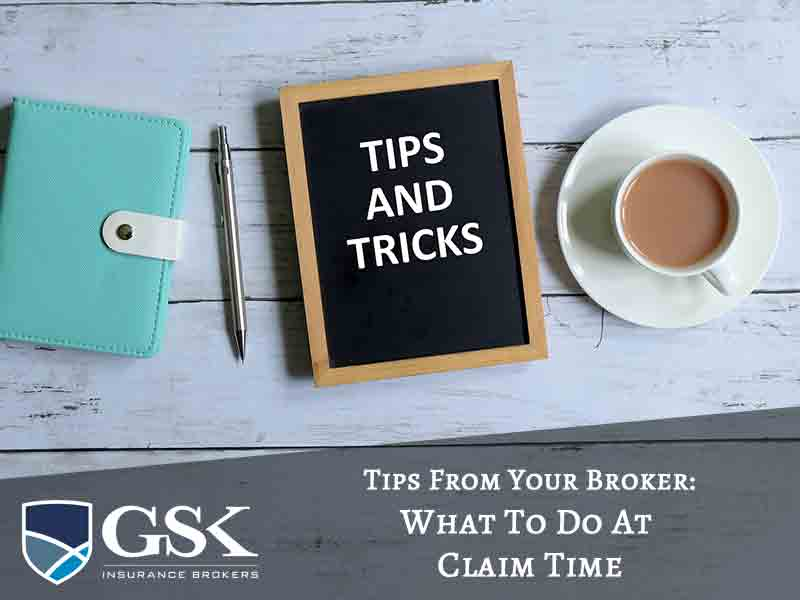 Tips From Your Insurance Broker Perth What You Need to Do at Claim Time
