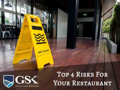 Top 4 Risks That Your Restaurant Business Faces