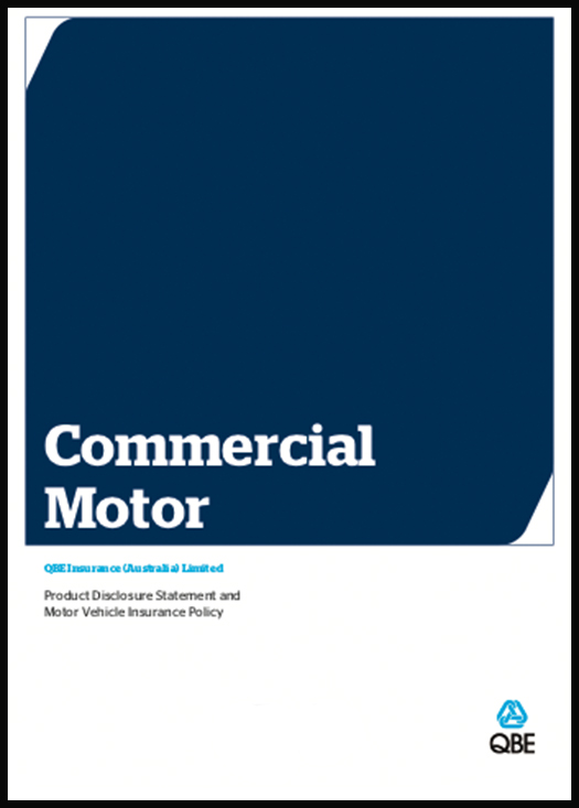 Commerical Motor insurance Policy