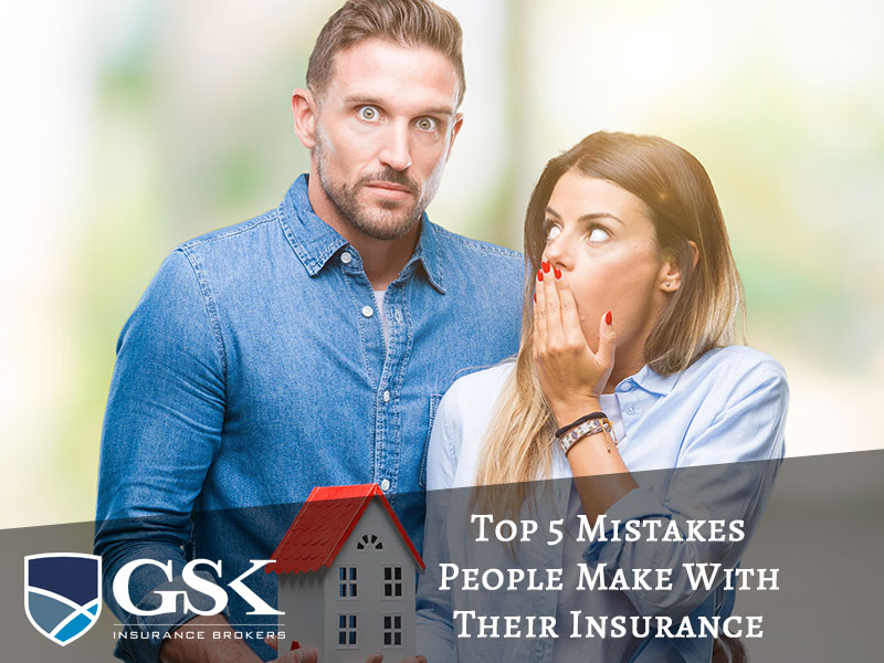 5 most common basic insurance mistakes